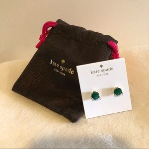 NWT Kate Spade Rise and Shine Round Stud